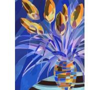 """Картина. Rosa """"Весняні квіти"""" 35х45см N00013198"""