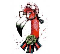 "Картина. Rosa ""Fashion Flamingo"" 35х45см N00013207"