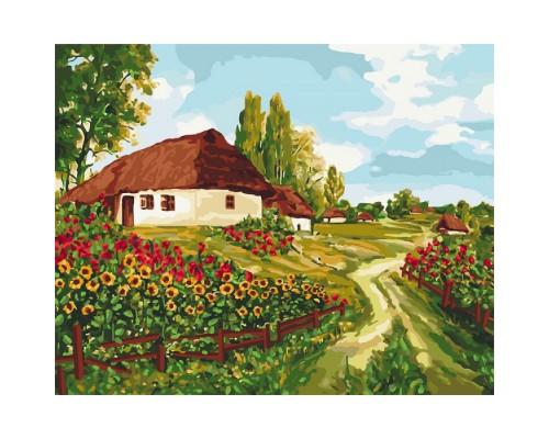"""Картина. """"Українськими стежками"""" 40*50см KHO2277"""