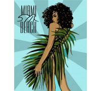 """Картина. """"Miami Beach"""" 40*50см KHO4699"""