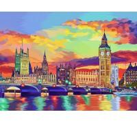 "Картина. ""Барвистий Лондон"" 40*50см KpN-01-08U"