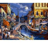 """Картина. """"Нічна Венеція"""" 40 * 50см. KpN-01-02U"""