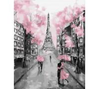 """Картина. Brushme """"Рожевий париж"""" GX22055"""