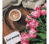 "Картина. Art Craft ""Sweet morning"" 40*40 см 12107"