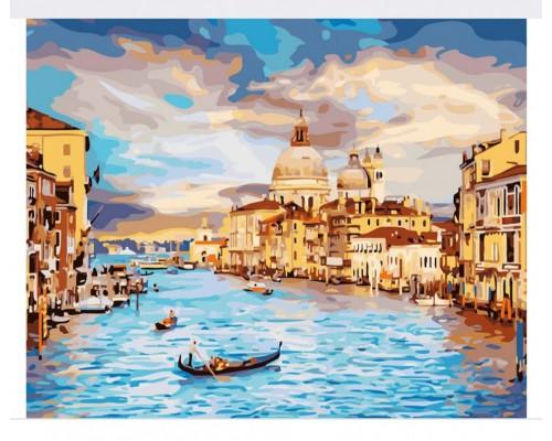 """Картина. """"Венеція"""" 40 * 40см KpNe-02-04"""