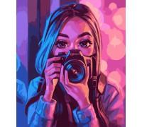 """Картина. Art Craft """"Погляд митця"""" 40 * 50 см 10206-AC"""