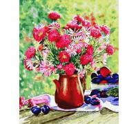 """Картина. Rainbow Art """"Квіти і сливи"""" GX34321-RA"""