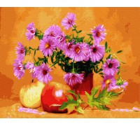 "Картина. Rainbow Art ""Астри і яблука"" GX34575-RA"