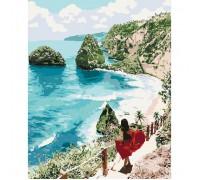"""Картина """"Діамантовий пляж"""" 40*50см KHO4734"""