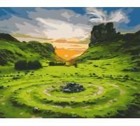 "Картина. Art Craft ""Долина Фей. Шотландія"" 40 * 50 см 10511-AC"