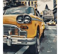 "Картина. Art Craft ""Особливе таксі"" 40 * 40 см 10518-АС"