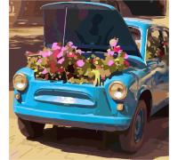 """Картина. Art Craft """"Квіткове ретро"""" 40 * 40 см 10517-АС"""