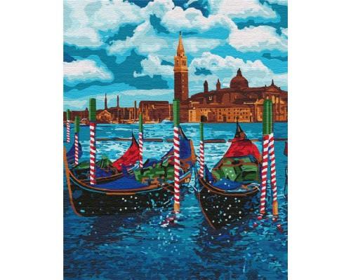 """Картина. """"Венеціанське таксі"""" 40 * 50см KHO2749"""