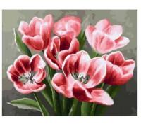 """Картина. Brushme """"Червоні тюльпани"""" GX26071"""