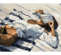 """Картина. Brushme """"Пляжний відпочинок"""" GX34193"""