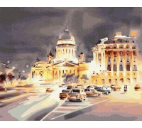 """Картина. Brushme """"Світло нічного міста"""" GX35213"""