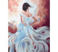 """Картина. Brushme """"Дама вітрів"""" GX34007"""