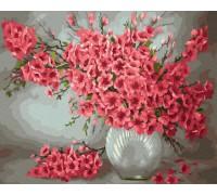 """Картина Brushme. """"Ваза з квітами"""" GX24628"""
