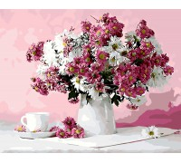 "Картина Brushme. ""Натюрморт в рожевих тонах"" GX8746"