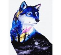 """Картина. Rainbow Art """"Таємниця вовка"""" GX32341-RA"""