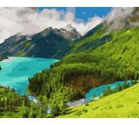 """Картина. Rainbow Art """"Ранок в горах"""" GX36148-RA"""
