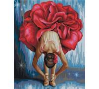 """Картина. Rainbow Art """"Квіткова балерина"""" GX22465-RA"""