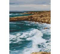 "Картина. Art Craft ""Узбережжя Пафос. Кіпр"" 40*50 см 10531-AC"