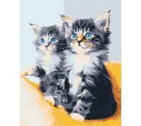 "Картина. Art Craft ""Блакитноокі кошенята"" 40*50 см 11617-AC"