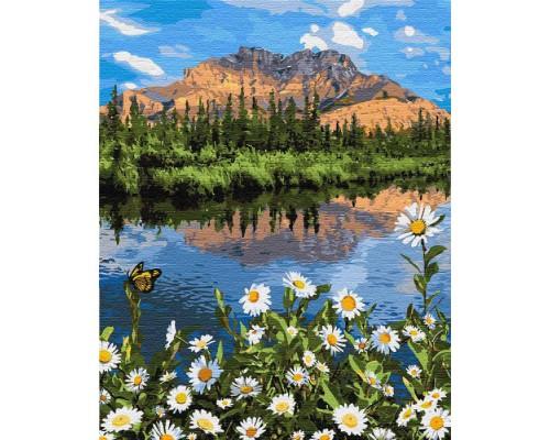 """Картина. """"Гірський пейзаж"""" 40 * 50см KHO2833"""