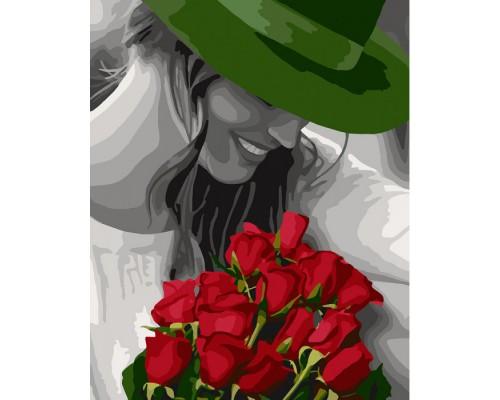 """Картина. """"Квіти коханій"""" 40*50см KHO4705"""