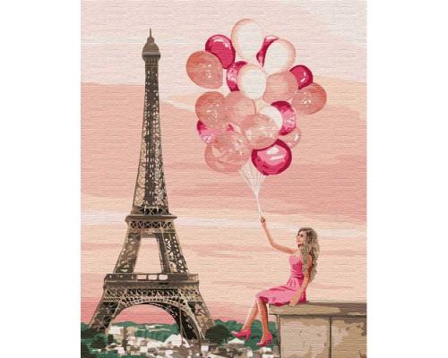 """Картина. """"Лілові фарби Парижа"""" 40 * 50см KHO4761"""