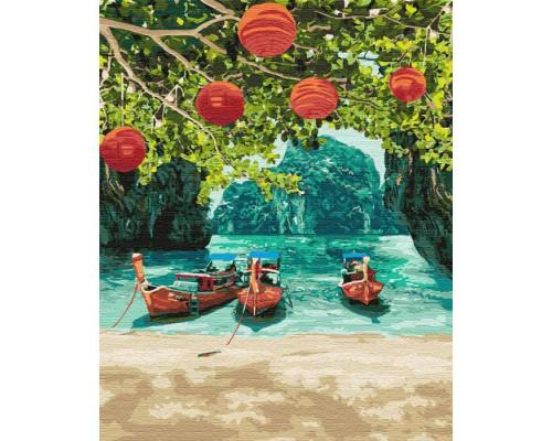 """Картина. """"Відпочинок в Таїланді"""" 40 * 50см KHO2291"""