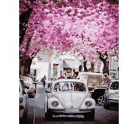 """Картина. Brushme """"У місті весна"""" GX31972"""